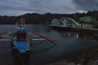 Sibale island - Poblacion port early departure