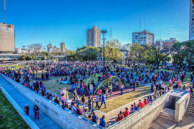 Inauguración Plaza Alberdi 2017