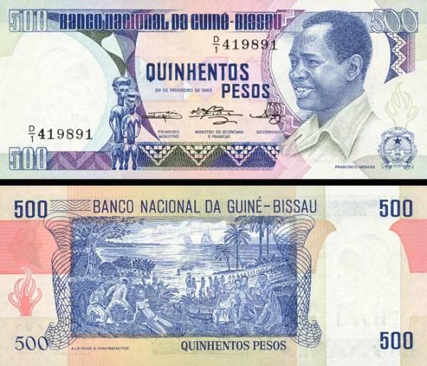 500 Pesos Guinea Bissau 1983, P7