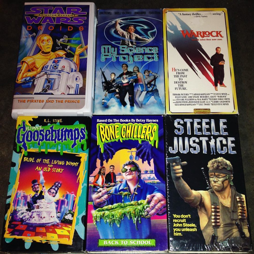 5 for 1 00 vhs tapes from goodwill vhs vhscu feedyour flickr
