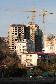 New apartment blocks under construction before the 2014 Winter Olympics in Sochi | by Marcus Wong from Geelong