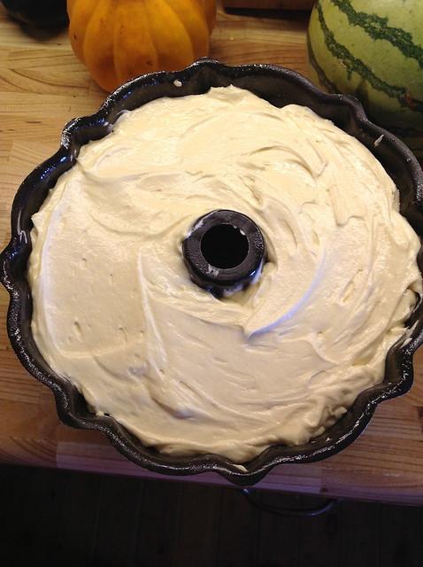 Strawberry Swirl Pound Cake Recipe