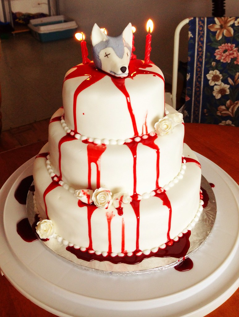 Game Of Thrones Red Wedding Birthday Cake