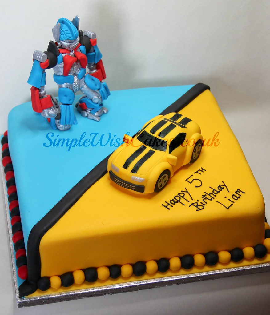 Transformers Birthday Cake Stef And Carla Green Flickr