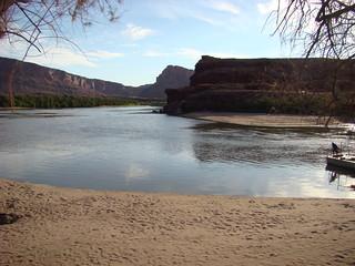 01 Startpunt boottocht Colorado river