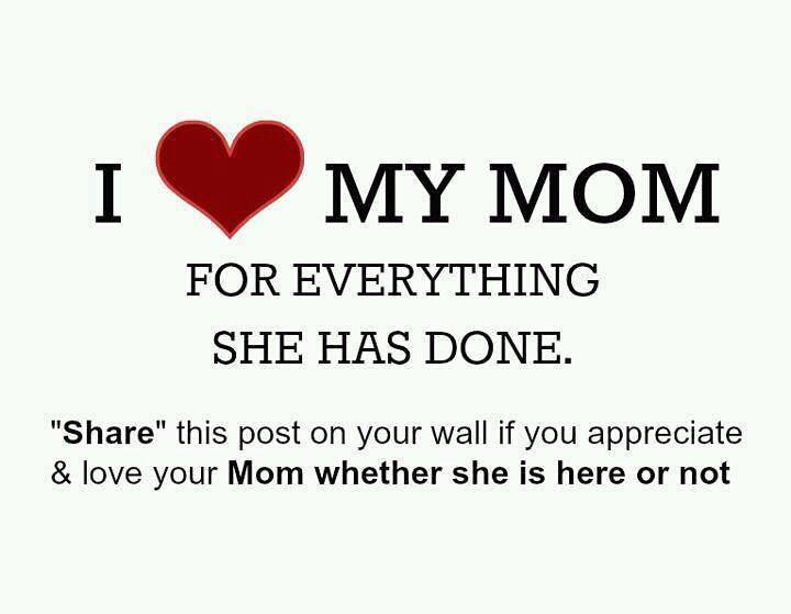 I Love My Mom Facebook Httponfbmey86ubd Google Ht Flickr