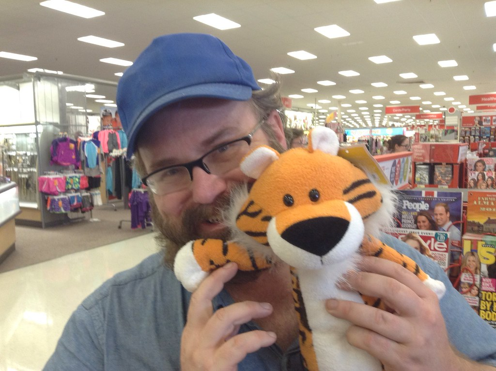 My Almost Hobbes Calvin And Hobbes Plush Toy Tiger From Flickr