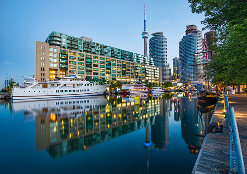 Toronto Harbor Reflection | by `James Wheeler