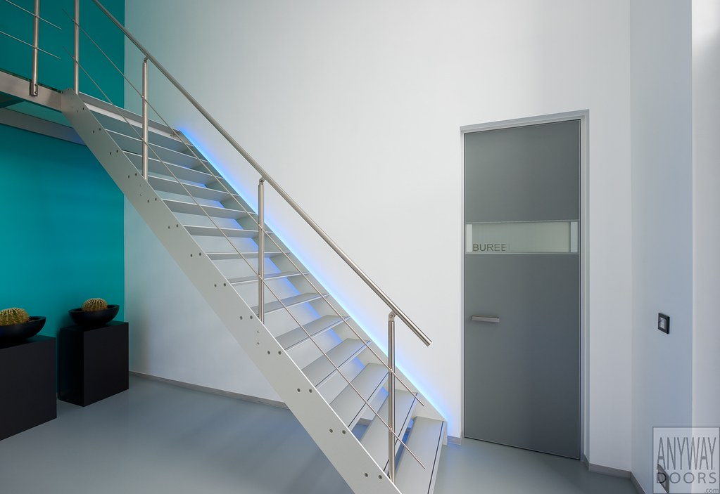 Moderne trap by van bruchem staircases interiors homify