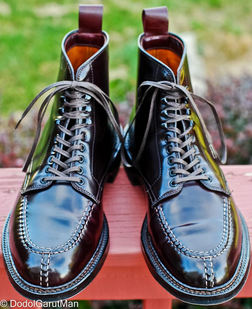 Sold Alden X Context Tanker Nst Boots In Color 8 Burgun