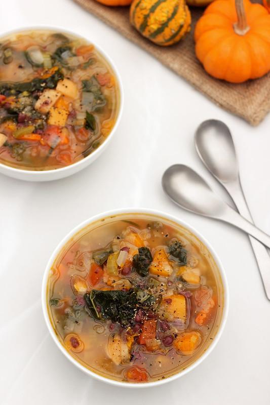 Fall Detox Soup - Gluten-free + Vegan