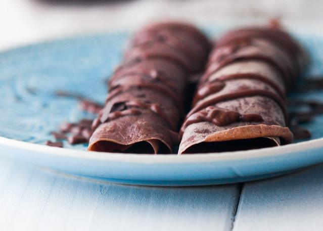 frixuelos de chocolate
