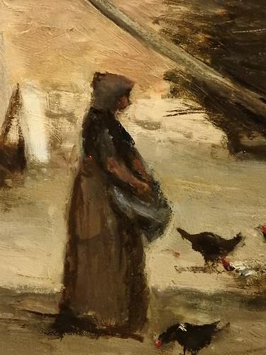 (Image credit: L'art au present: COROT Camille,1865-70 - Cour d'une Maison de Paysans aux environs de Paris (Orsay) - Detail 37)