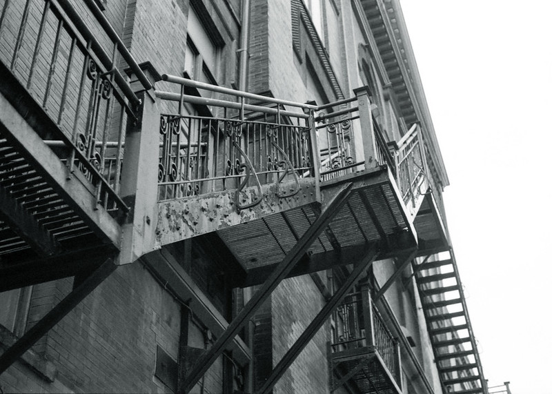 Storied Fire Escapes