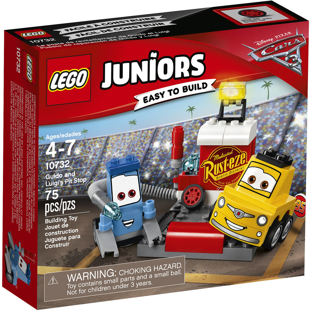 LEGO Juniors Cars 3 10732 - Guido and Luigi's Pit Shop