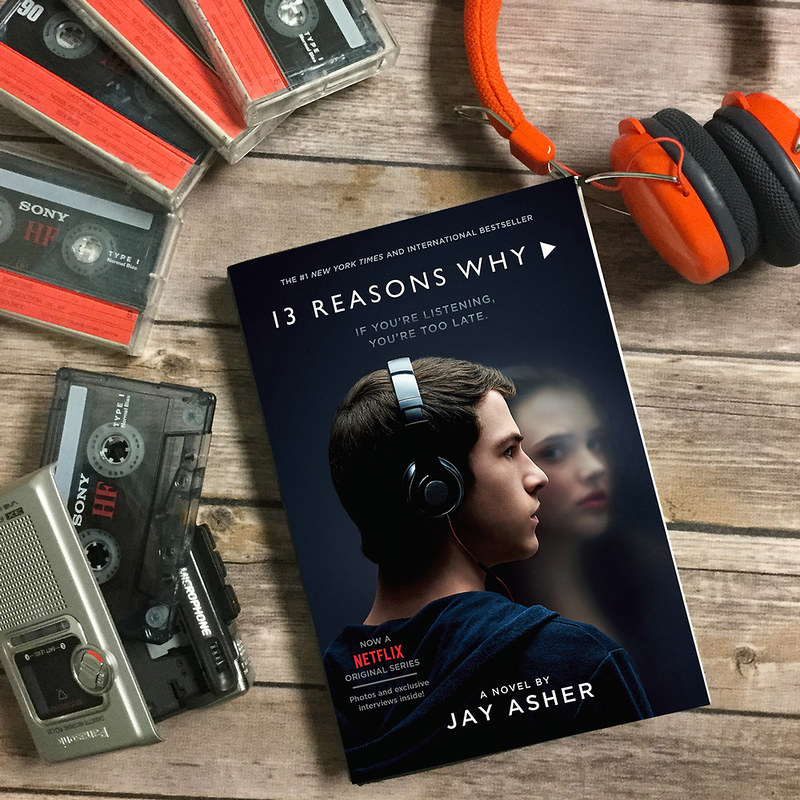 jay asher 13 reasons why book cover