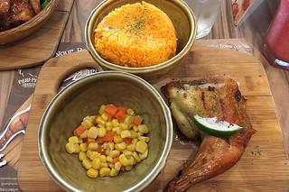 Peri Peri Chicken - Palmas Java Rice Corn