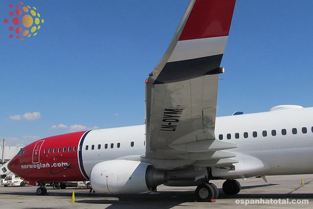 low-cost Norwegian Airlines