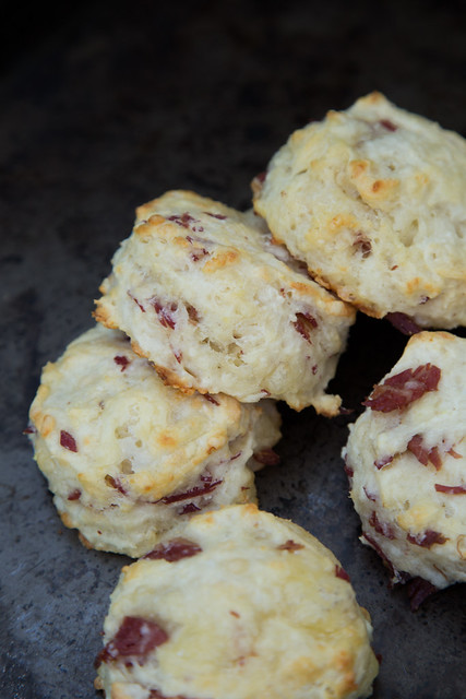 Corned Beef Cheese Biscuits