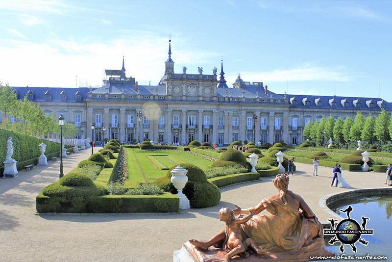 Palacio Real de la Granja de San Ildefonso. Segovia, Castilla y León. España.
