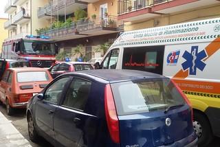 Noicattaro. Incidente via Vecchia Casamassima front