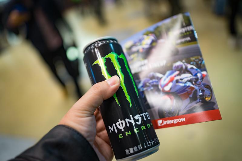 Tokyo MC Show 2017 : Monster ENERGY