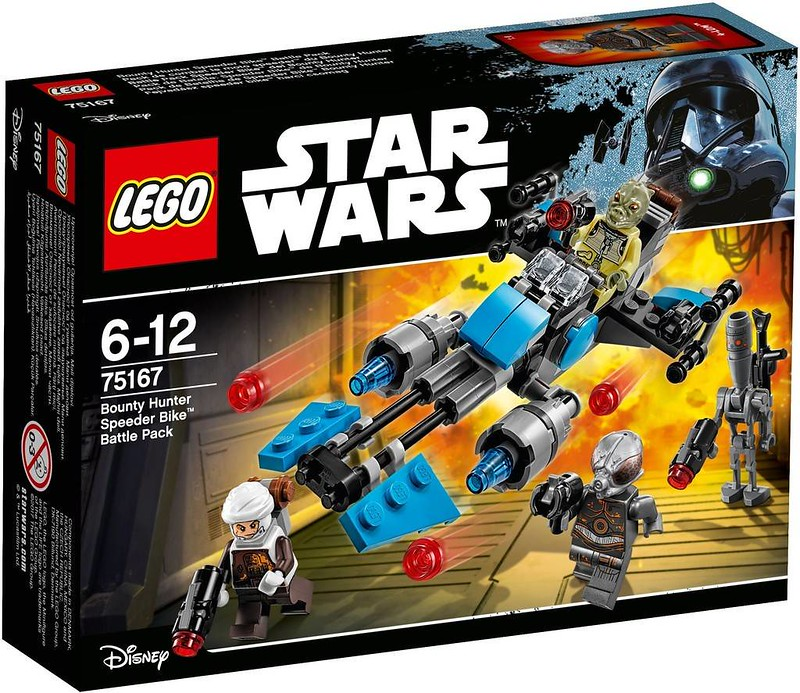 LEGO Star Wars 75167 - Bounty Hunter Speed Bike Battle Pack