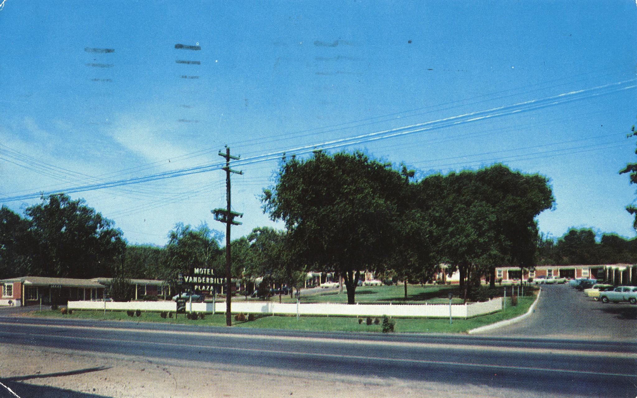 Vanderbilt Plaza Motel - Nashville, Tennessee