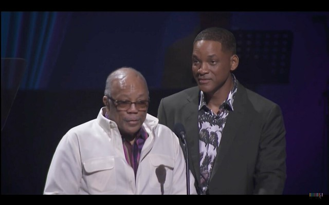 Quincy Jones and Will Smith