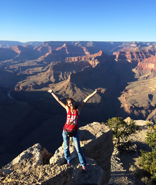 In my California top in Grand Canyon National Park