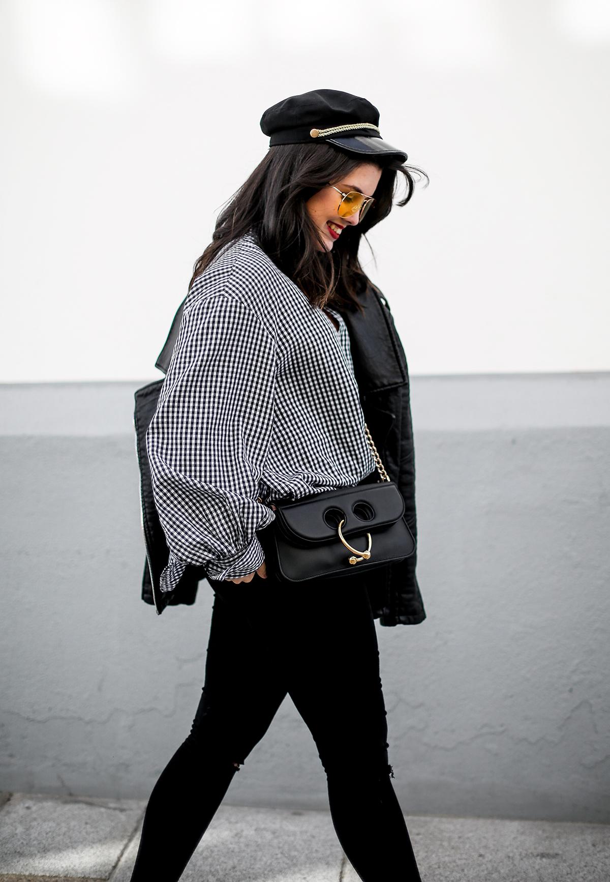 camisa-cuadros-vichy-chanel-slingback-pierce-bag-jw-anderson-myblueberrynightsblog7