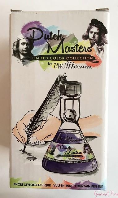 Ink Shot Review P.W. Akkerman Dutch Masters Gele Oker van Frans @vulpennen 2