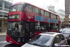 Wrightbus NRM NBFL - LTZ 1480 - LT480- Fulham Broadway 11 - Go Ahead London - London 2017 - Steven Gray - IMG_8235