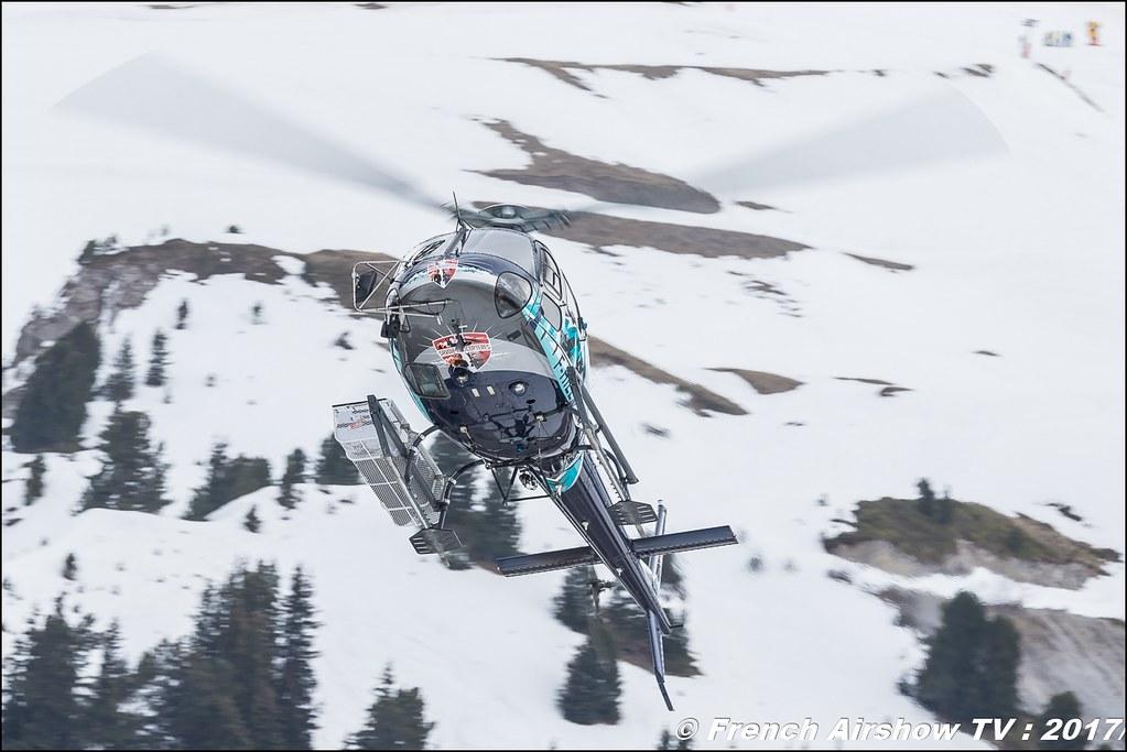 Aérospatiale AS-350 B3 Ecureuil - F-HILL , Savoie Hélicoptères , Fly Courchevel 2017 , Hélico 2017