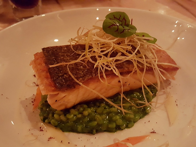 Elm Tree Cafe salmon