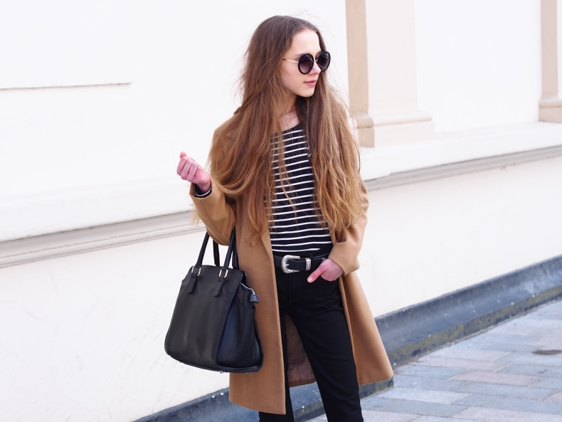 Camel Coat Spring Look