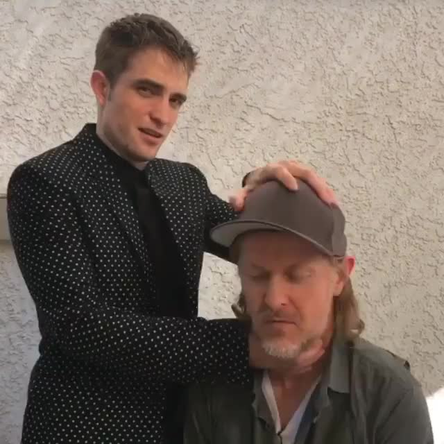 Robert Pattinson BTS  picture 2017