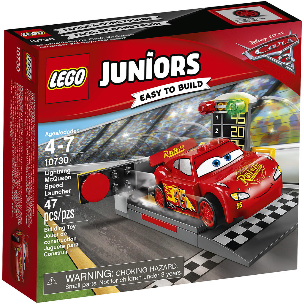 LEGO Juniors Cars 3 10730 - Lightning McQueen Speed Launcher