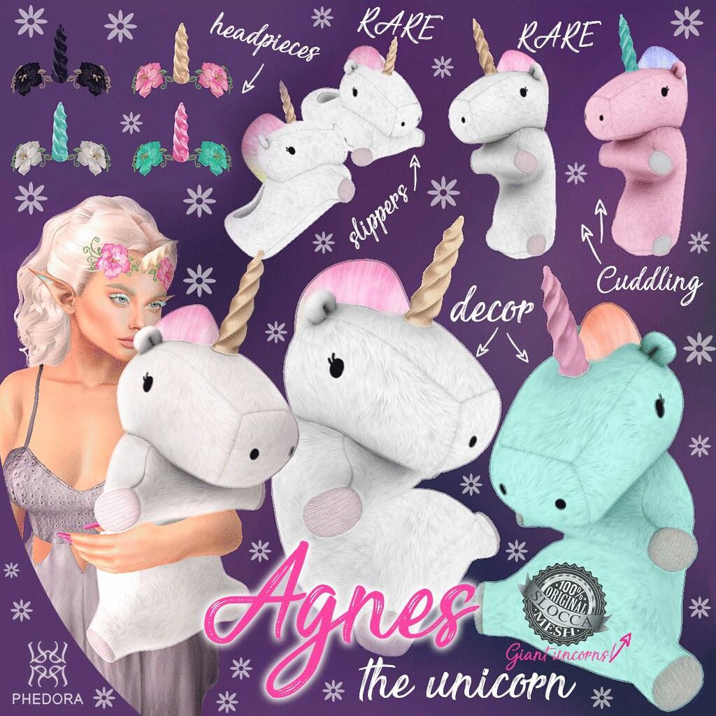"Phedora. for N21- ""Agnes the Unicorn"" gacha!"