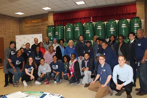 Rain Barrel Giveaway, St. Albans, Queens