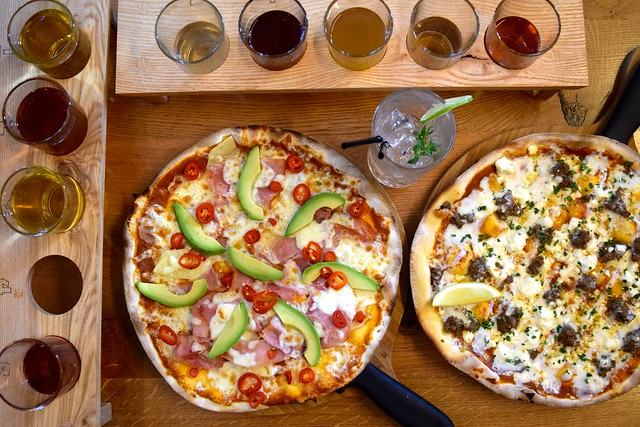 Pizza & West Country Cider at The Stable, Whitechapel | www.rachelphipps.com @rachelphipps