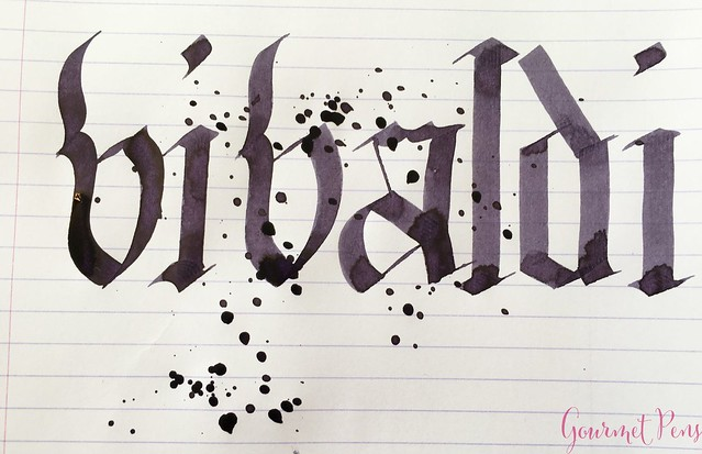 Ink Shot Review Diamine Music Vivaldi @AppelboomLaren 6