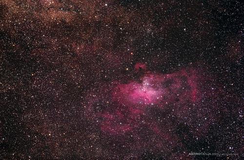 The Eagle Nebula | The Eagle Nebula (Messier 16) is an ...