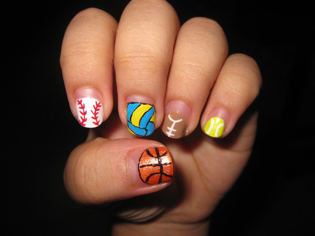 Nail Art Design Balls Katikuykuy Flickr