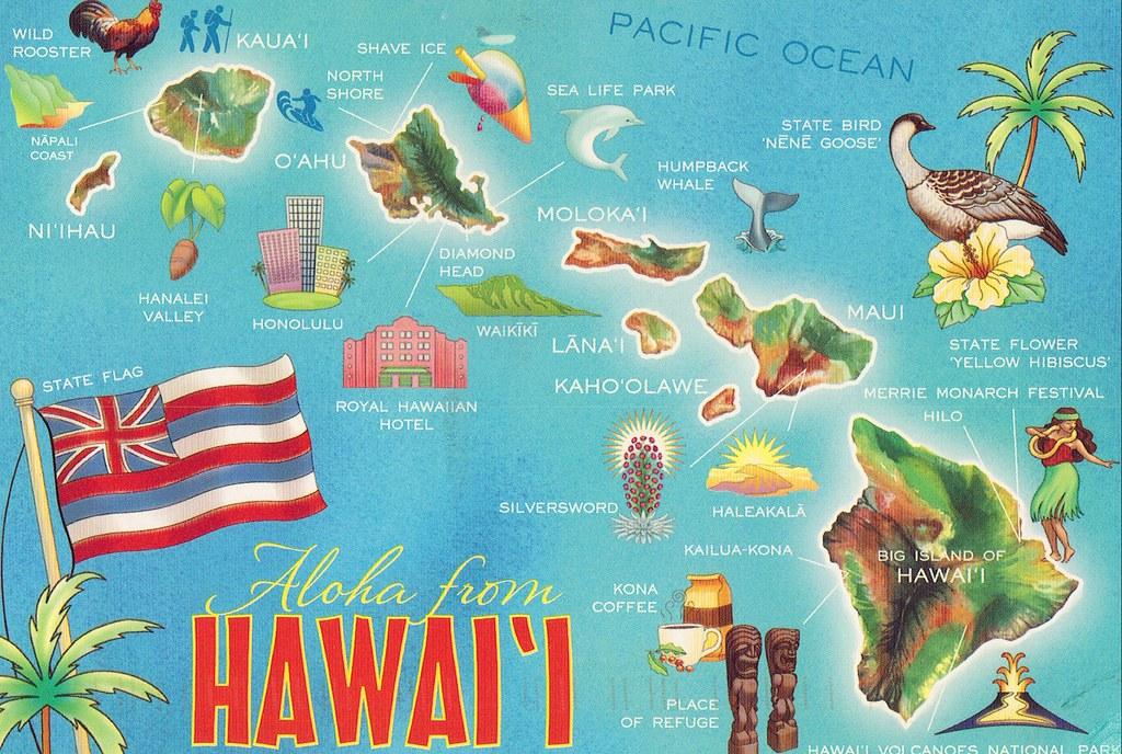 Hawaii Map Katie Flickr