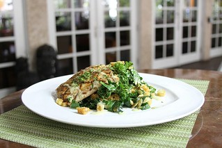 Kale Caesar with Mahi | by thepalmshotel