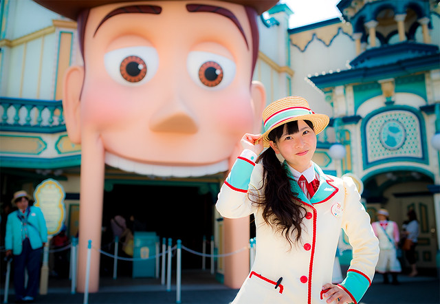 Toy Story 4 Cast : Tokyo disneysea toy story mania cast member flickr