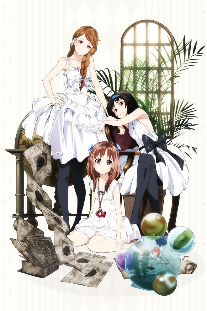 130708(1) – 動畫監督「梅津泰臣」籌備七年的原創動畫《ガリレイドンナ》(伽利萊女神)將從10月開播!