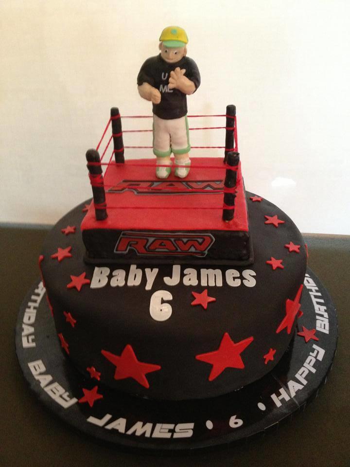 Wrestling Birthday Cake Lady Wpb Flickr