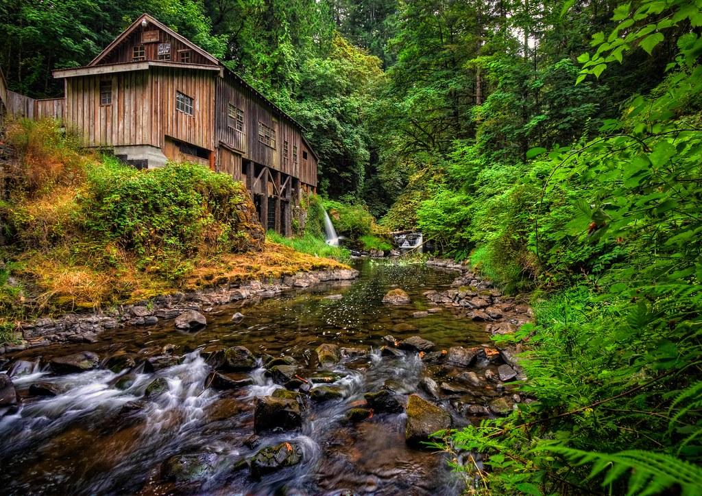 Summer At The Cedar Creek Grist Mill Www